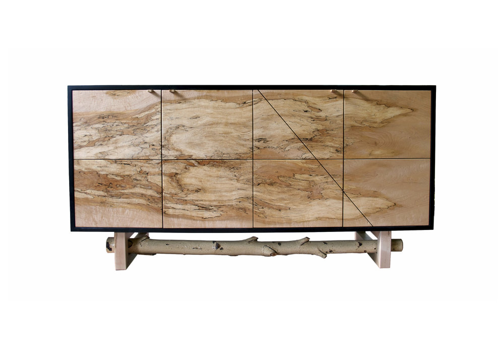 Spalted Maple Credenza