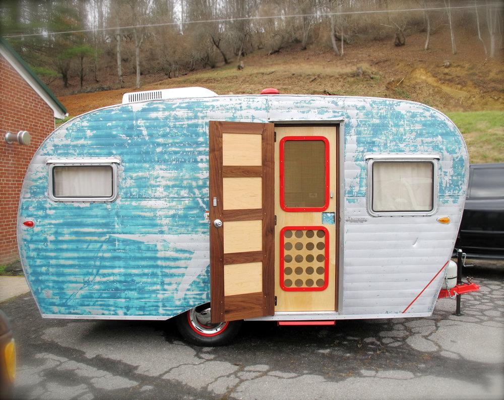 1957 Trotwood Camper Remodel