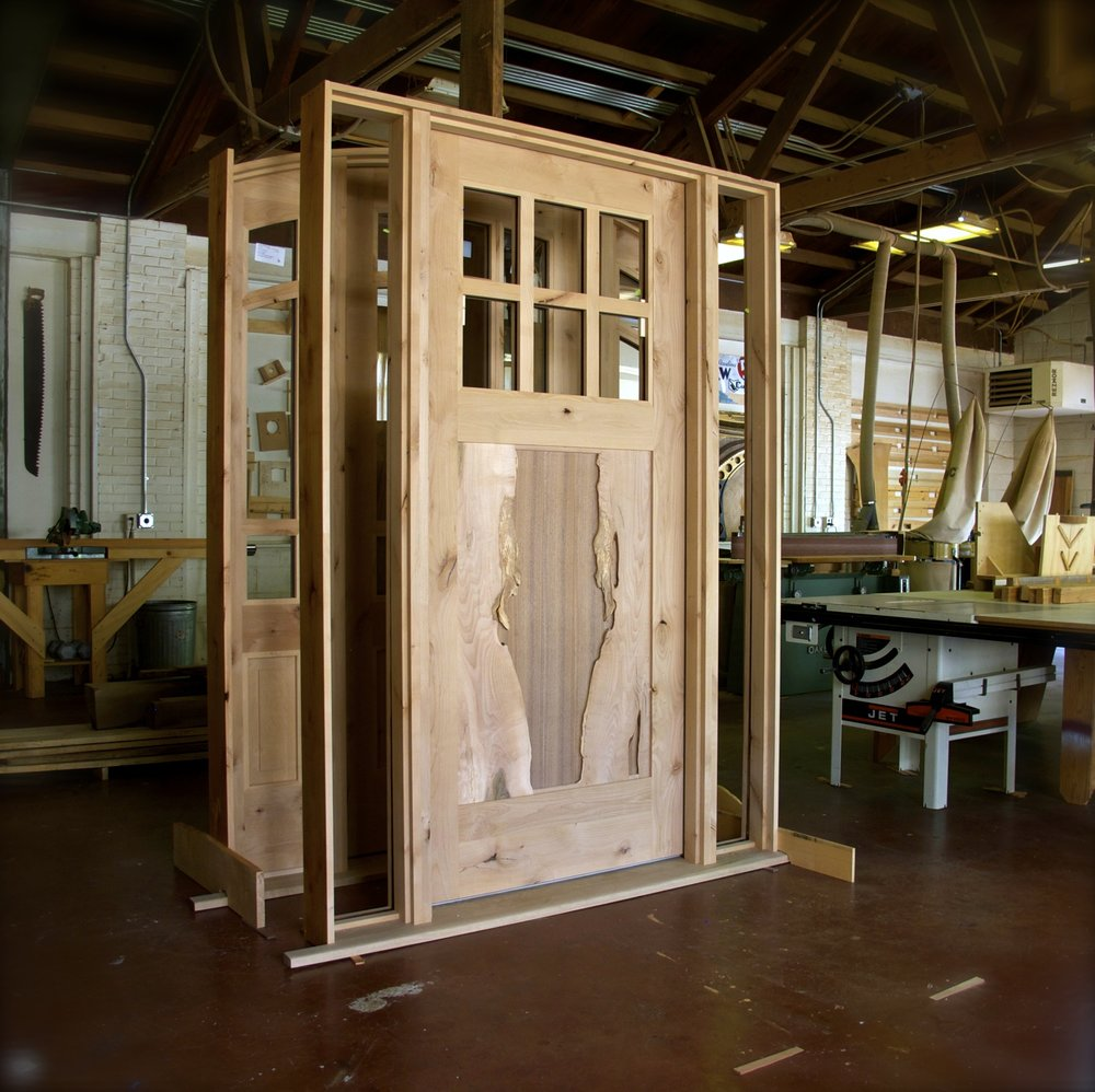 Craftsman Front Door with Live Edge Panel.jpg