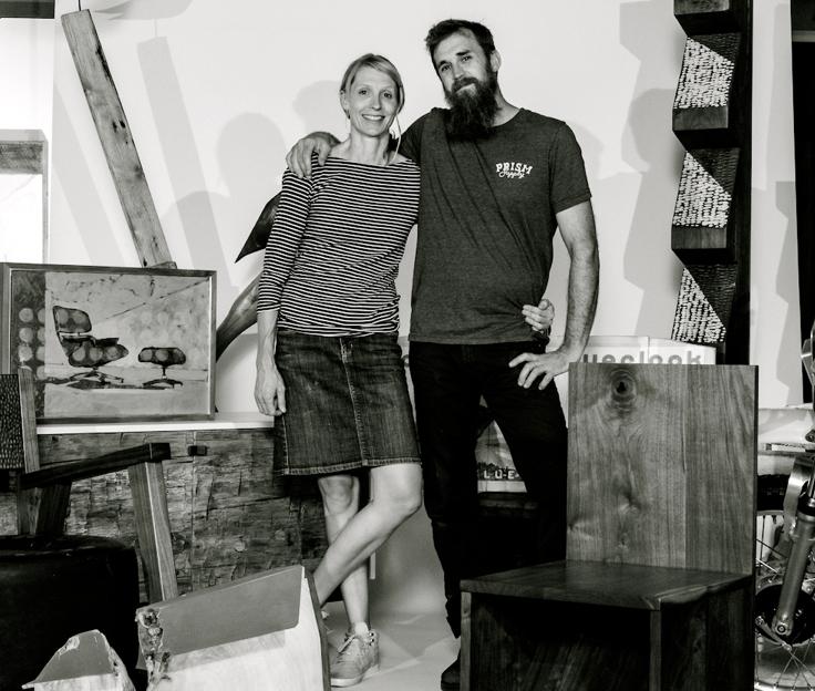 Paul & Kim Fuelling of Mabel Studios