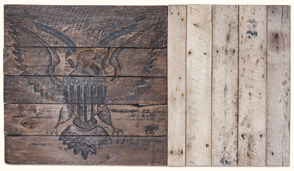 Weathered Bas-Relief