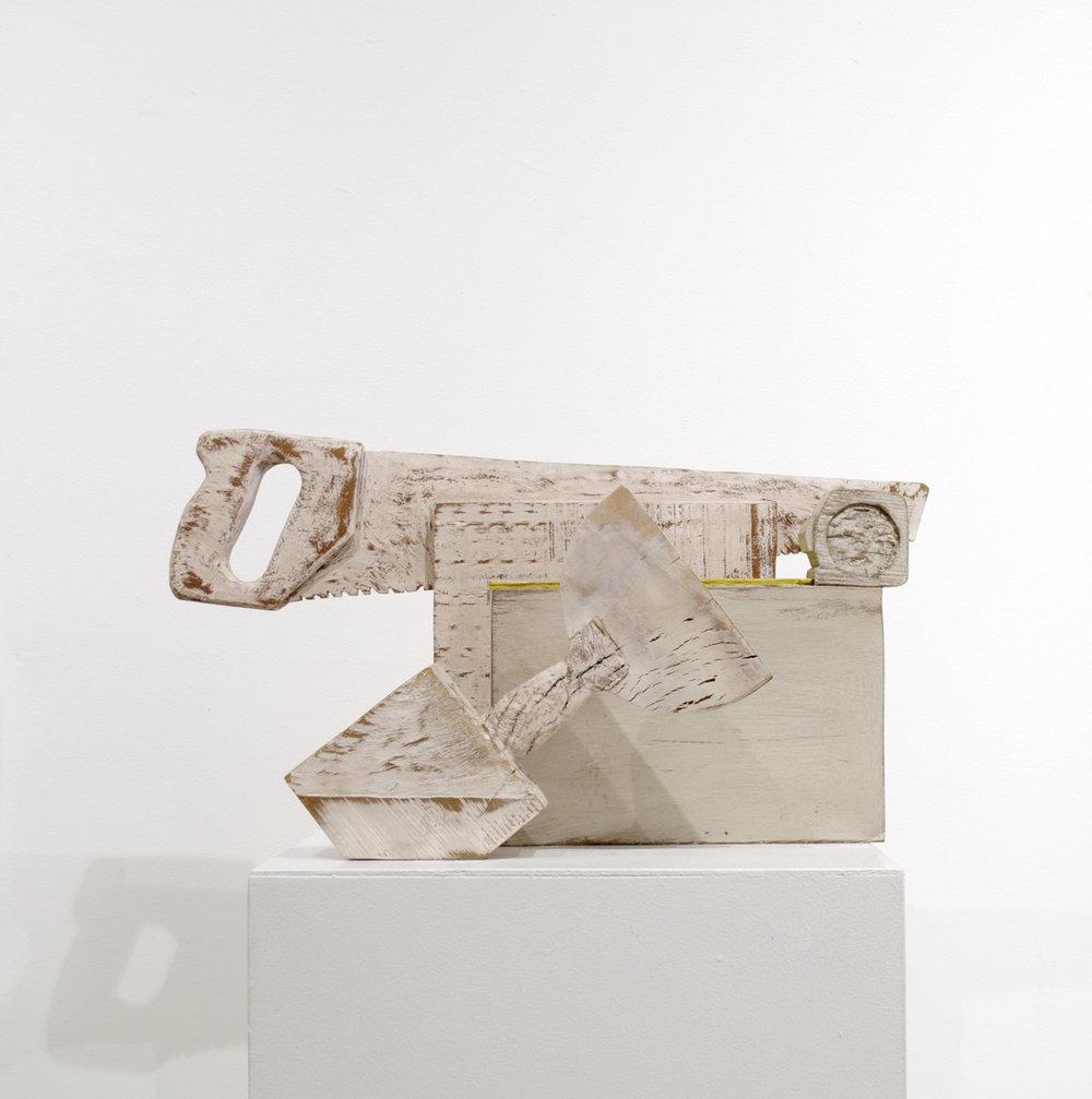 Wooden Hand Tool Sculptures