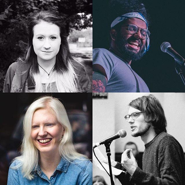 EDINBURGH, TONIGHT! We're so excited to feature @jessgreenpoet, @ellen_ren, Leo Glaister (@immarryingherooo), and Joe with the Glasses! Plus music from @jackhinksmusic, all hosted by @kevoutloud. 7:30pm at the Scottish Storytelling Centre, tickets available on the door or via the SSC website. See you there! . . . #poetry #poets #spokenword #spokenwordpoetry #performancepoetry #slampoetry #show #gig #nightout #iamloud #edinburgh #scotland #loudpoets #poem #poetsofinstagram #cast #lineup #fun #art #artists #performance #performers #scottishart #scottishartists #picoftheday