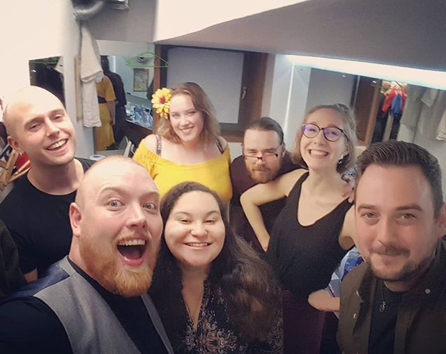 We had a phenomenal time at last night's show. Massive thank you to @ciaranhodgers, @sarahgrant.creative, @tobycampion, and @theglycoprotein for bringing their wonderful word to our stage! . . . #spokenword #poetry #poet #loudpoets #iamloud #scottishart #scottishartis #edinburgh ##squadgoals #poetpals