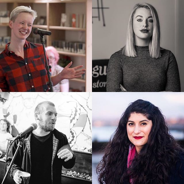 TOMORROW we're featuring this brilliant lineup in our final show of the year! Poems from Alex Clark, @samsmallpoetry, @cathepburnwrite, and @nadineaishajassat, plus music from @jackhinksmusic, all hosted by @kevoutloud. 7:30pm at the Scottish Storytelling Centre. . . . . #poetsofinstagram #poetsofig #poet #poetry #gig #show #nightout #spokenword #spokenwordpoetry #slampoetry #performancepoetry #performancepoet #iamloud #loudpoets #scotland #edinburgh #scottishart #scottishartists #performance #performers