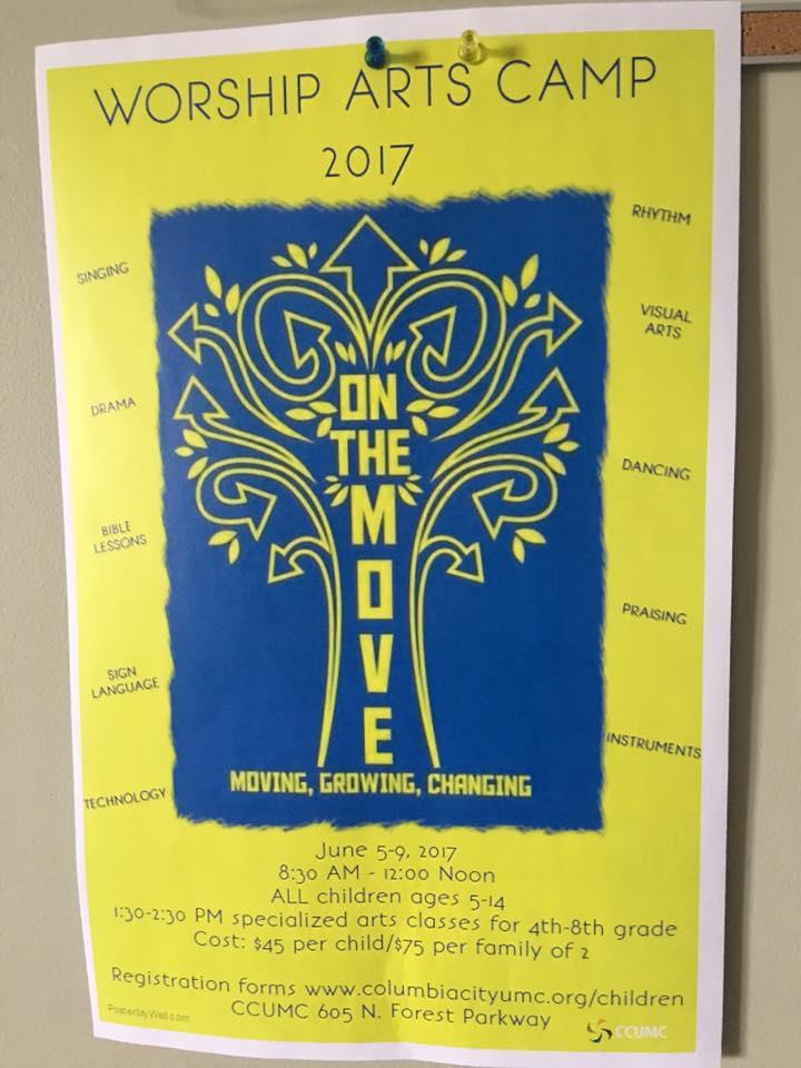 Worship Arts Camp 2017