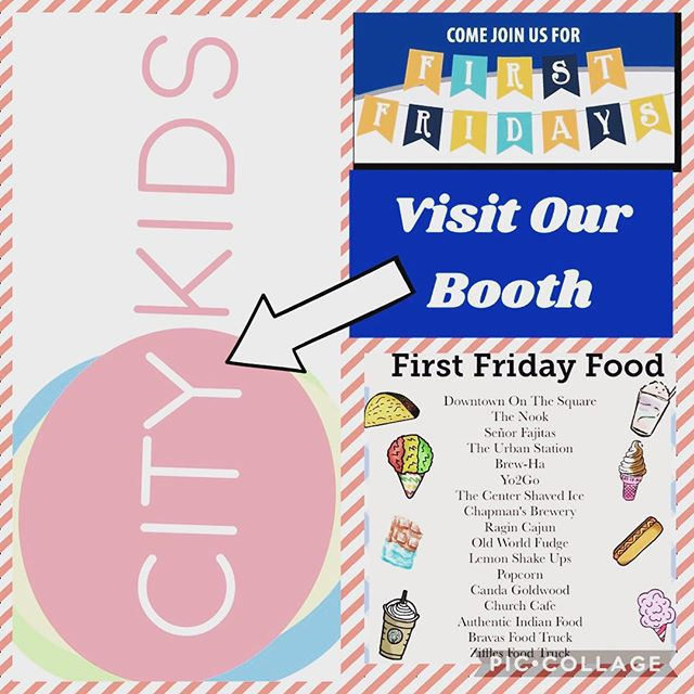 No plans for your Friday night??? We've got you covered. 🌮Great food 🎼Great music 🎈Great booth activities ⌛️Great time!  Stop by the CCUMC Children & Family Ministry Booth for activities your kids will love...and a little sweet treat🍡.