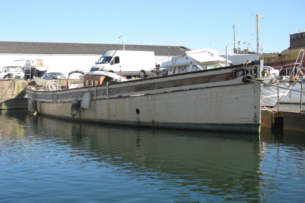 'Charmian', Brixham trawler yacht