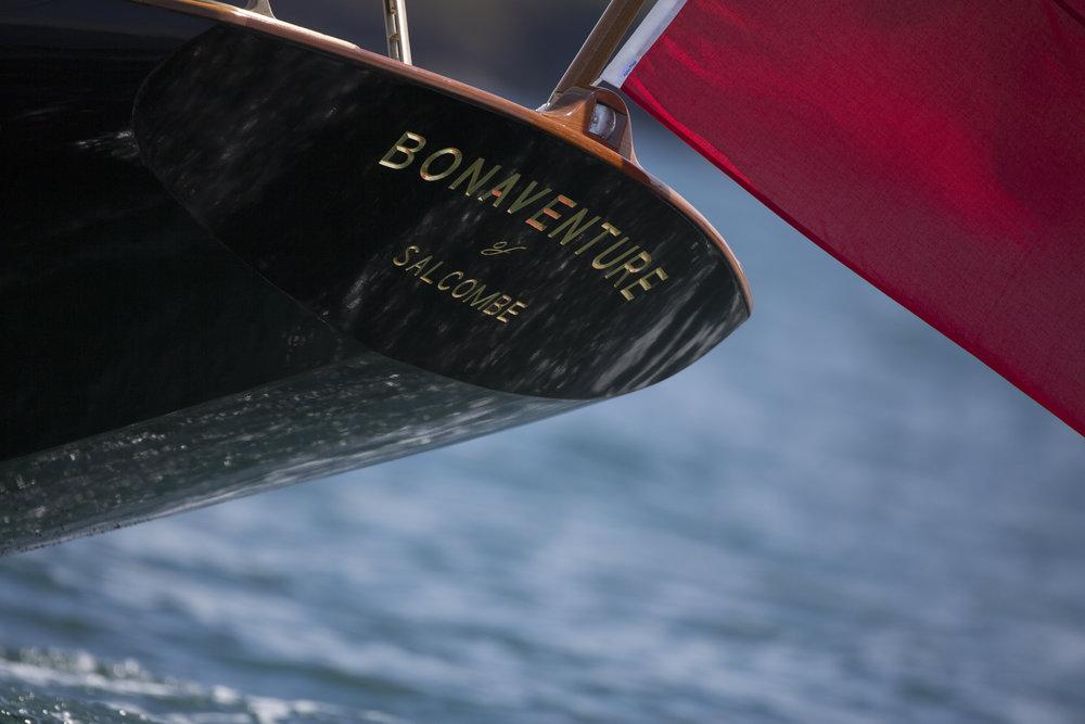 Bonaventure's stern © Mark Lloyd