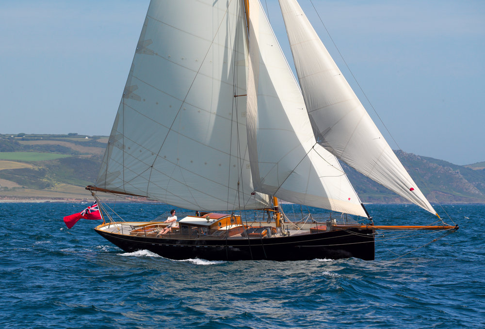 "'Bonaventure of Salcombe' under sail. Her powerful rig and sleek, seaworthy hull make cruising a comfortable and enjoyable experience                     Normal   0           false   false   false     EN-US   JA   X-NONE                                                                                                                                                                                                                                                                                                                                                                              /* Style Definitions */ table.MsoNormalTable 	{mso-style-name:""Table Normal""; 	mso-tstyle-rowband-size:0; 	mso-tstyle-colband-size:0; 	mso-style-noshow:yes; 	mso-style-priority:99; 	mso-style-parent:""""; 	mso-padding-alt:0cm 5.4pt 0cm 5.4pt; 	mso-para-margin:0cm; 	mso-para-margin-bottom:.0001pt; 	mso-pagination:widow-orphan; 	font-size:12.0pt; 	font-family:Cambria; 	mso-ascii-font-family:Cambria; 	mso-ascii-theme-font:minor-latin; 	mso-hansi-font-family:Cambria; 	mso-hansi-theme-font:minor-latin; 	mso-ansi-language:EN-US;}     © Mark Lloyd"