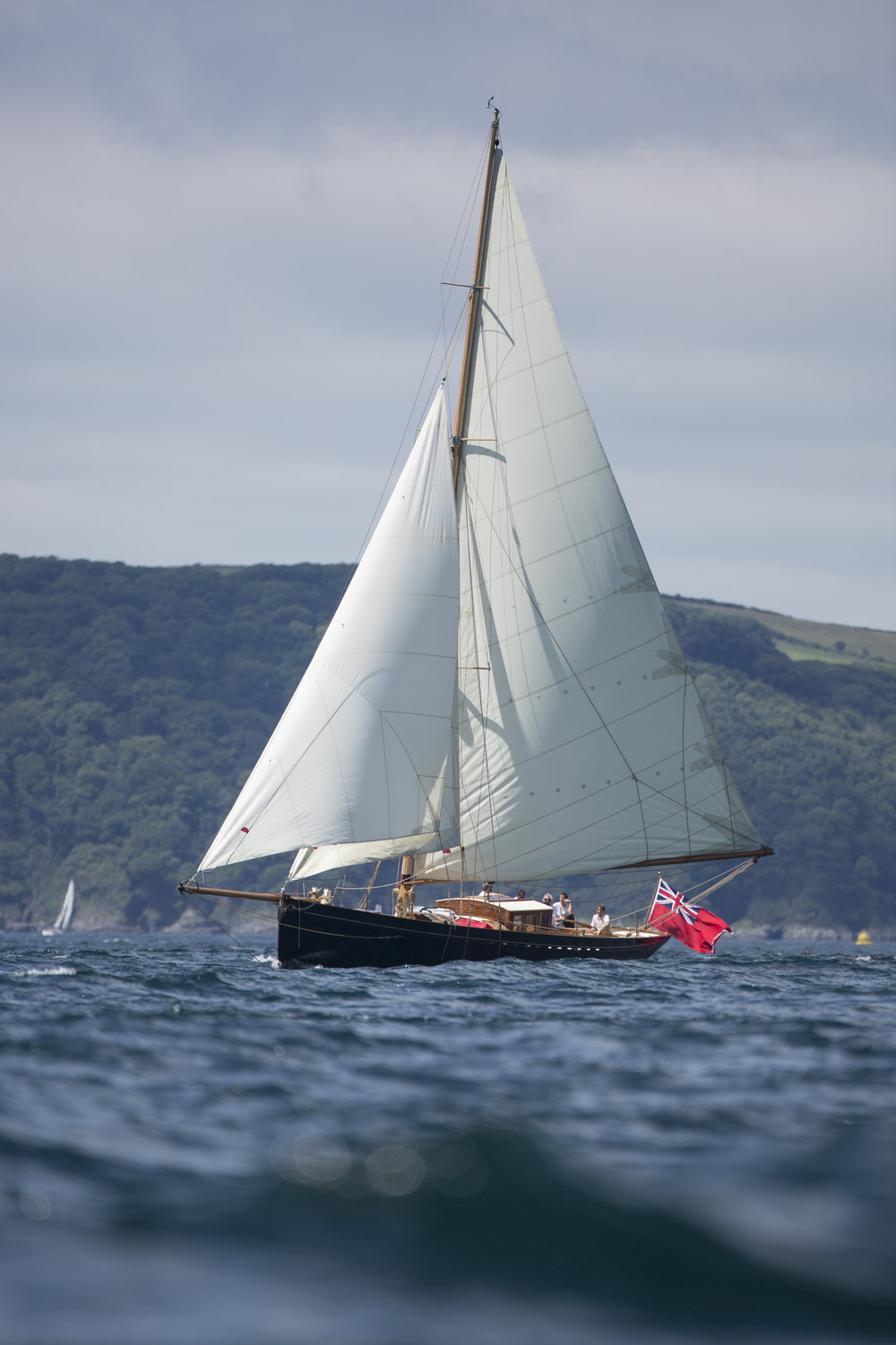 'Bonaventure of Salcombe' under sail © Mark Lloyd