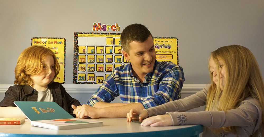 Ian Mackey Kids Classroom
