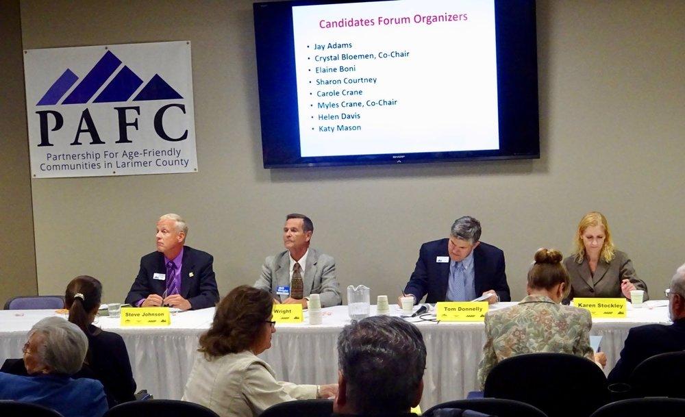 Candidates Forum October 2016