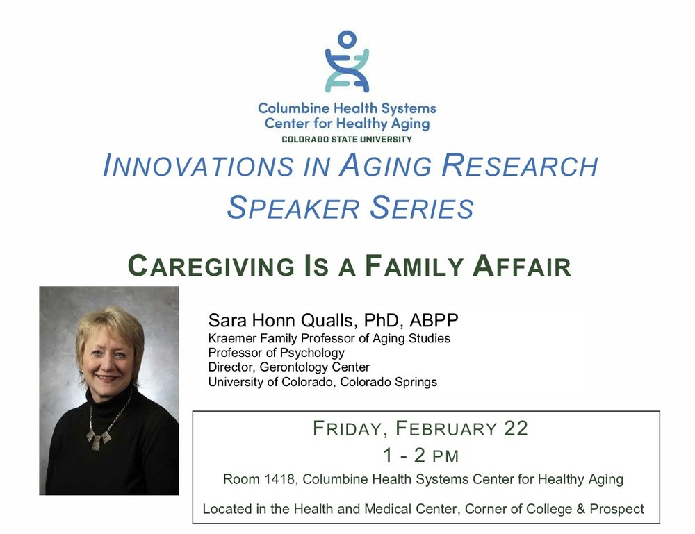 This talk examines existing caregiving literature within a family systems lens, offering perspectives on moving past the limitations of a stress and coping framework.    Read more