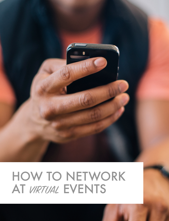 How to Network at Virtual Events