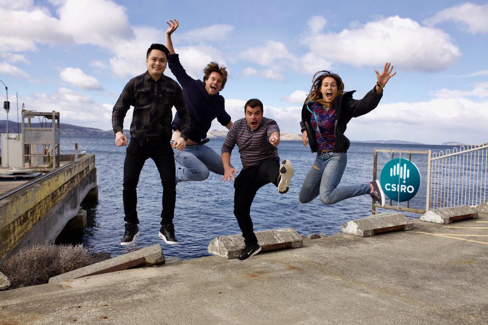 Don't Panic! - Pascal Craw, Eric Raes, Leslie Roberson, Kim Lee-ChangAustralia, USA, Malaysia