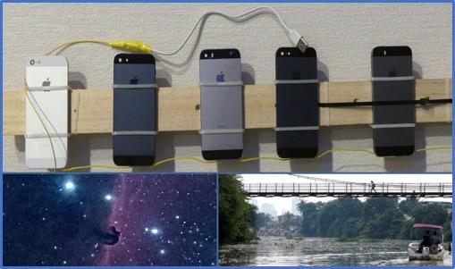 Plank of cameras.