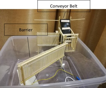 Working model of the Bubu Trap constructed at M4TP.