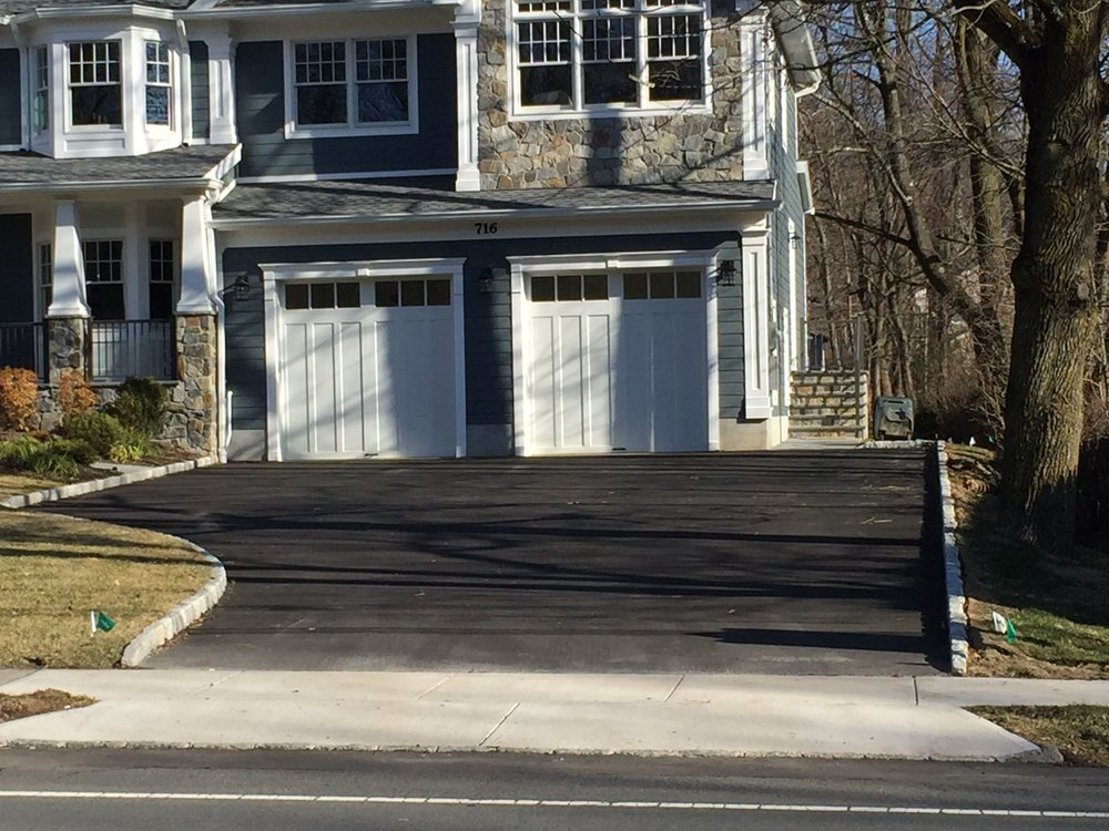 Double Driveway Asphalt Paving in - Berkley Heights - New Jersey - By Lou Porchetta Paving.jpg