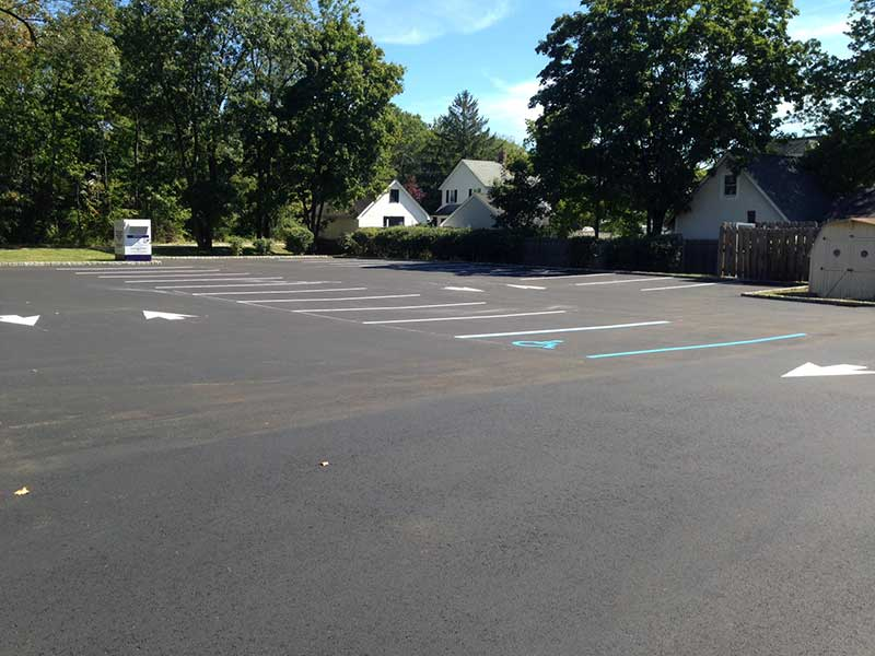 Business Parking Lot Paved in Far Hills NJ