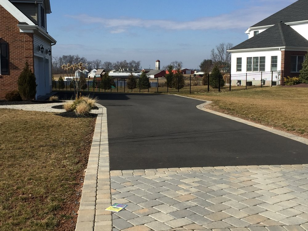 Belgium Stone Apron Curbing in Belle Mead, New Jersey