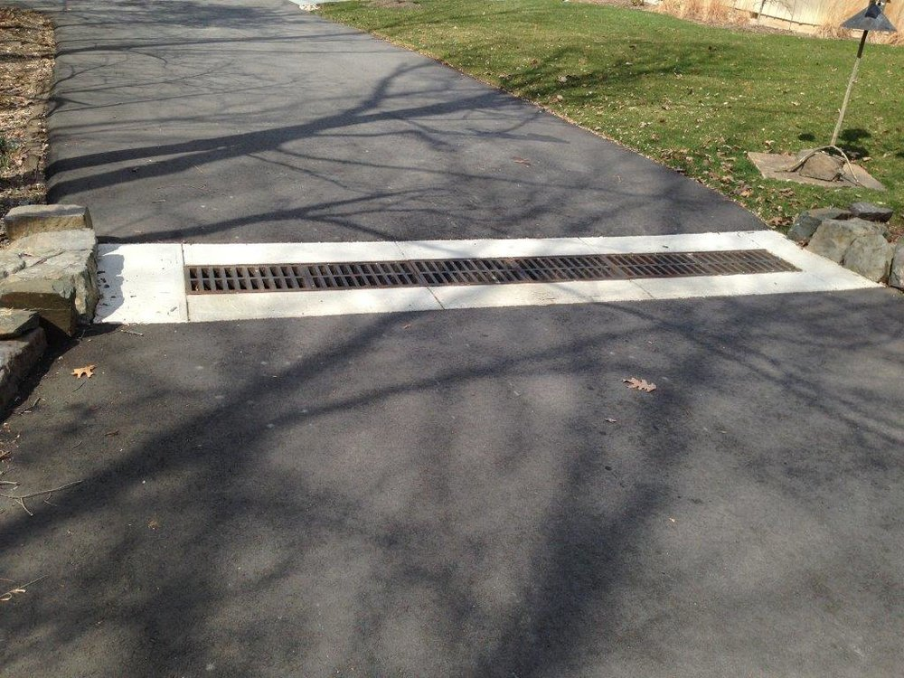 Driveway Drainage and Excavation Contractor in Central New Jersey - Lou Porchetta Paving