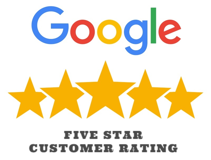 Five Star Google Rating - Lou Porchetta Pavers - NJ Concrete and Asphalt Paving Contractors