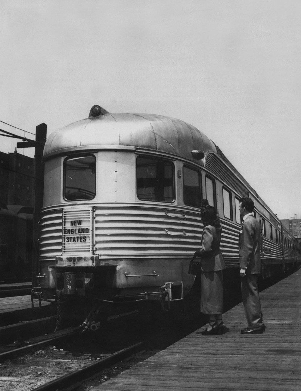 The  Babbling Brook  in service on the New York Central in the 1950s.