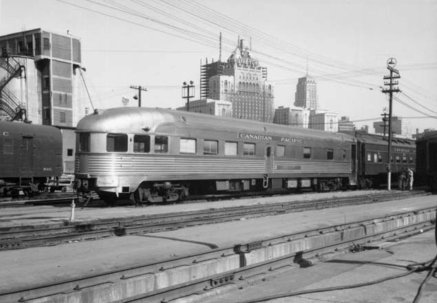 The  Seaview  in service on the Canadian Pacific in Toronto, ON in October of 1965.