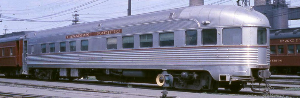 The  Seaview  in service on the Canadian Pacific in Toronto, ON in June of 1964.