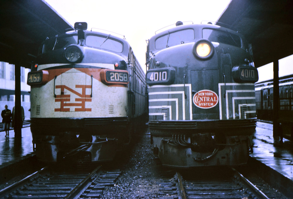 Early 1960s in Boston South Station.