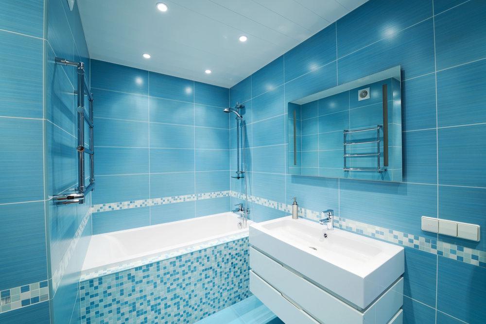 Wonderful Blue Bathroom