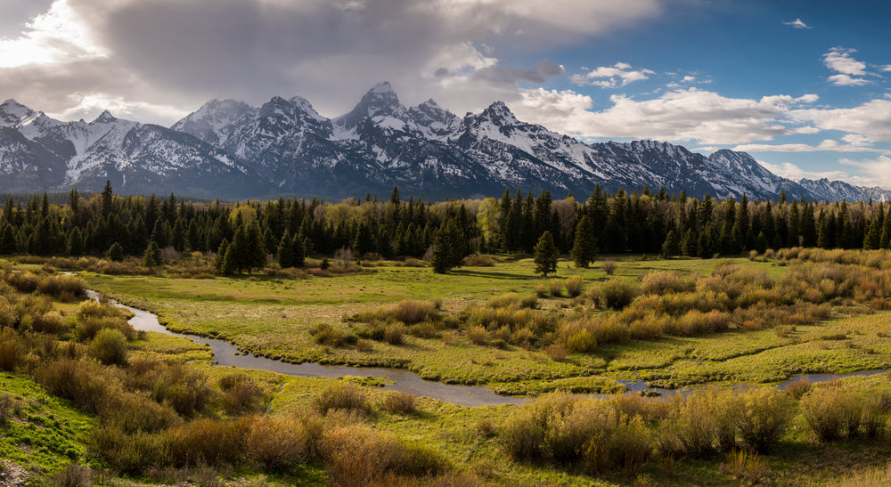 Blacktrail Overlook, Grand Teton National Park, Wyoming
