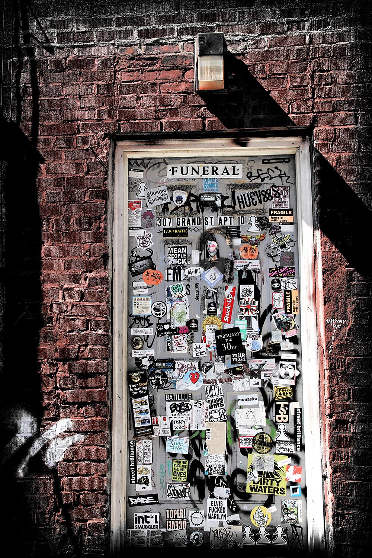 NYC Doors -  307