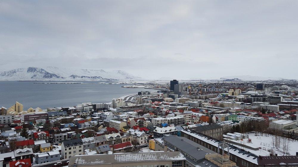 Downtown Rekjavik