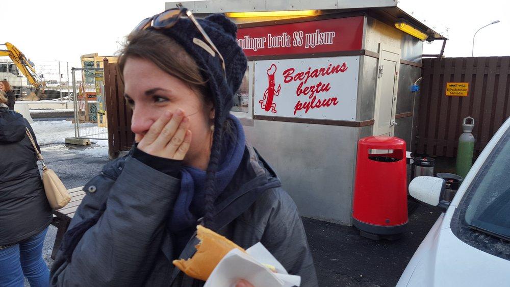 Baejarins Beztu Pylsur  (Literally, The Best Hot Dog in Town)