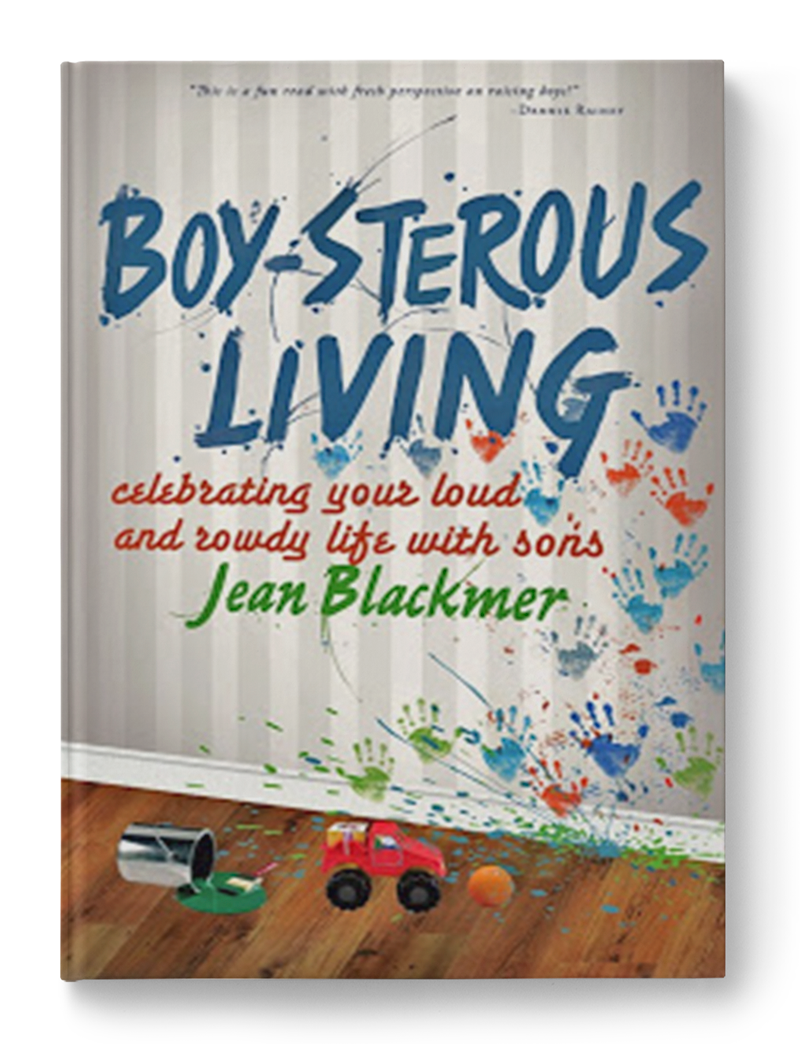 Raising boys isn't easy. Life with them is loud. If it's quiet, they're probably up to something. Living with them pretty much guarantees that you're in for an adventure. In       Boy-sterous     Living  , Jean shares a few of the priceless stories and laugh-out-loud lessons that she and her boys have experienced over the years. With humorous insight, practical advice, and biblical principals, she offers encouragement and ideas to help mothers impact and shape the lives of their sons.