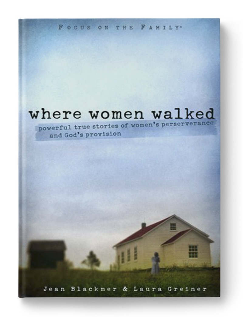 Where Women Walked   is an unforgettable collection of 28 stories about life experiences from women of generations past. It will inspire women of today to rejoice in the good times and persevere and grow through the painful times. Written with wit and woven with wisdom, each story pays tribute to a woman who rose above her circumstances and lived a life worth remembering.  Where Women Walked  covers topics women struggle with today and includes discussion questions and tips that make it ideal for small groups.
