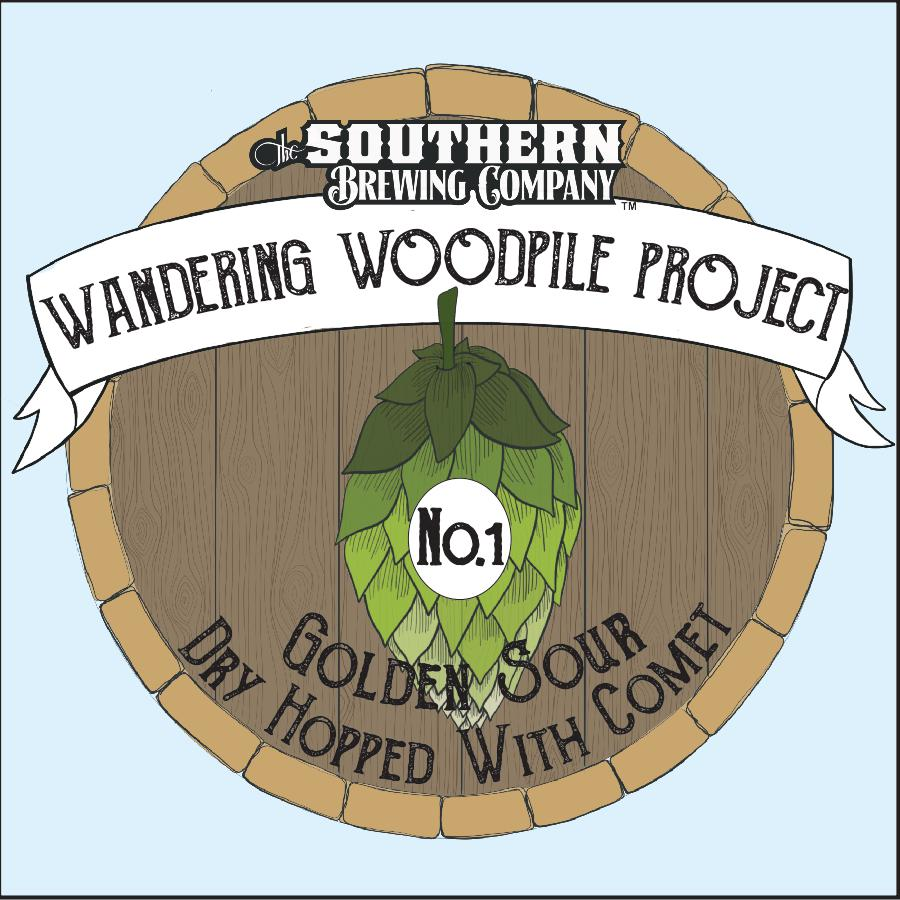 Project No.1: Golden Sour Dry Hopped with Comet - This small batch golden sour was aged for 12 months in wine barrels before we dry hopped with Comet. Notes of pineapple and stone fruit support flavors of white wine with subtle hints of vanilla. A light body with a dry finish makes it approachable and will keep you coming back for more.