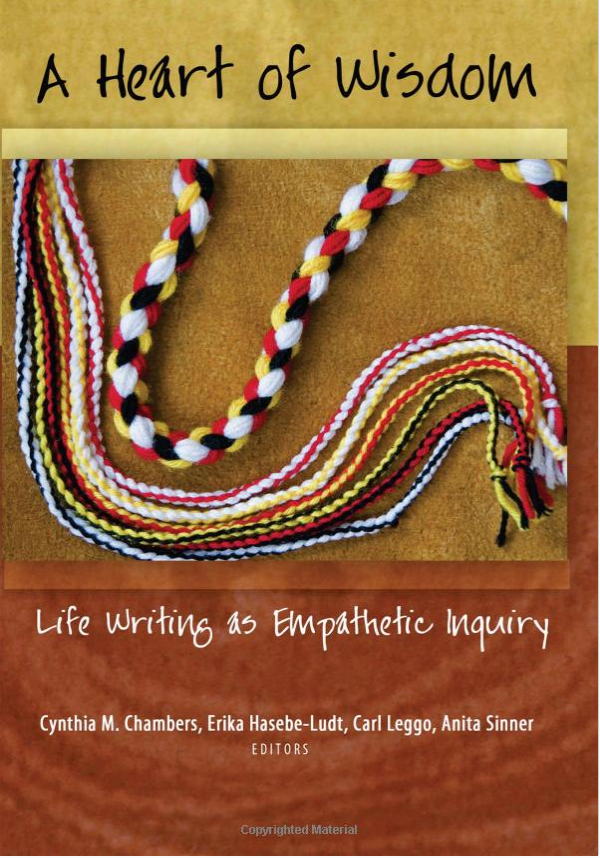 Book cover for A Heart of Wisdom Life Writing as Empathetic Inquiry by Cynthia M.Chambers, Erika Hasebe-Ludt, Carl Leggo, Anita Sinner