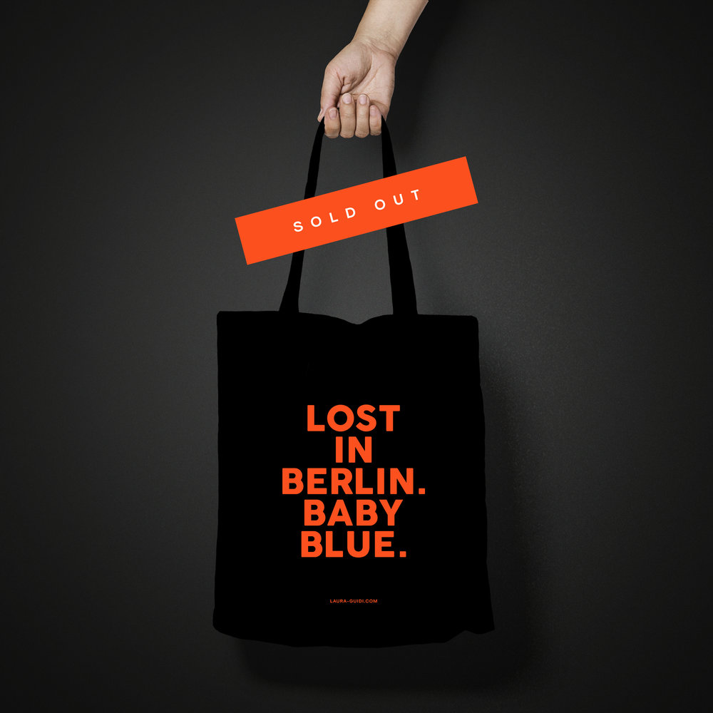 TOTE BAG   €12.00  SOLD OUT