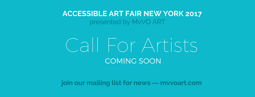 Accessible Art Fair - Foire de New York - Appel aux Artistes
