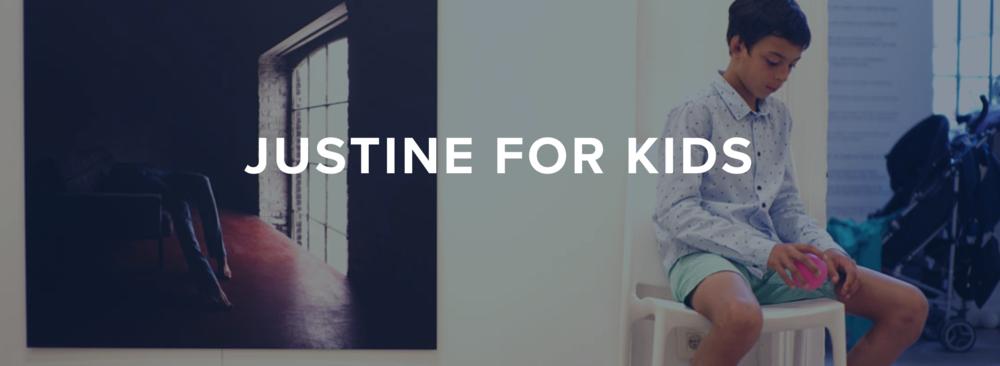 Accessible Art Fair - Partenaires & Sponsors - Justine for Kids