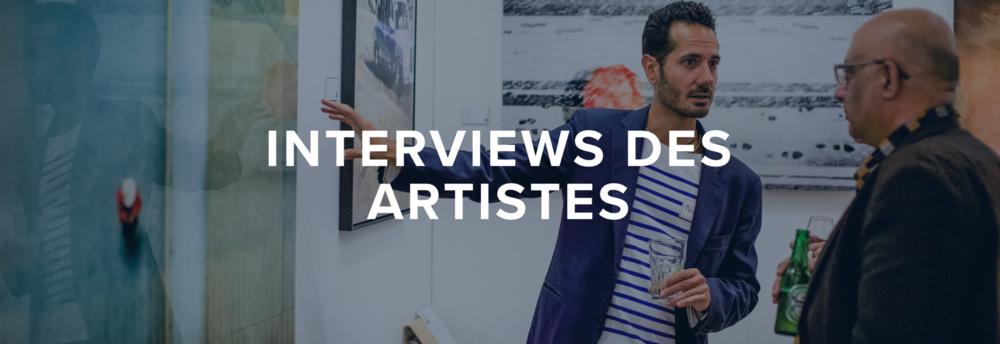 Accessible Art Fair - Artistes - Interviews des Artistes