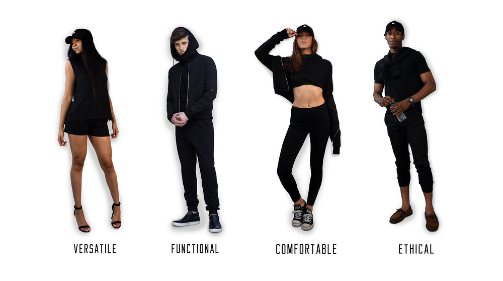 versatie, functional, comfortable, sustainable, eco-friendly, gender neutral athleisure