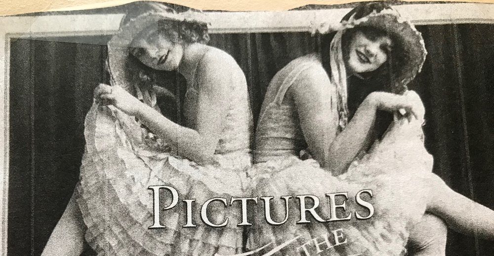 "Caption: ""My grandma Lillian Livesay (left) and her sister, Dorthy Hunter, were vaudeville dancers and actresses when their father, James Day, was an electrician working on the Panama Canal,"" writes Sandra Packham, Monroe, Washington. ""In the mid-'20s the sisters moved to Long Beach, California for health reasons, leaving their father behind."" - REMINISCE MAGAZINE"