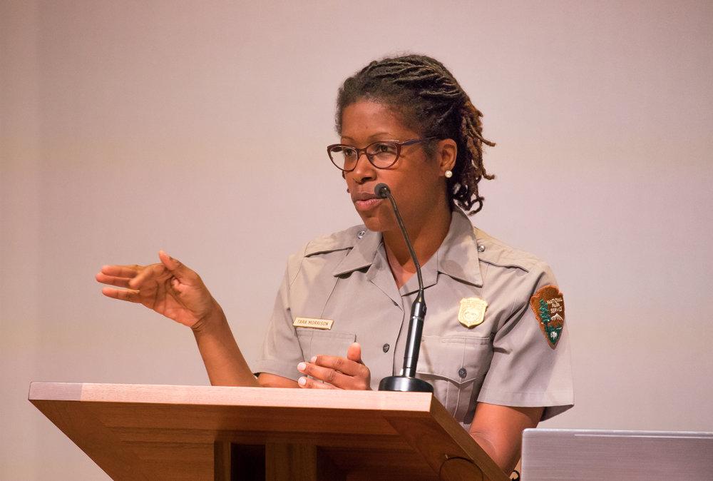 Supt. Tara Morrison, National Park Service