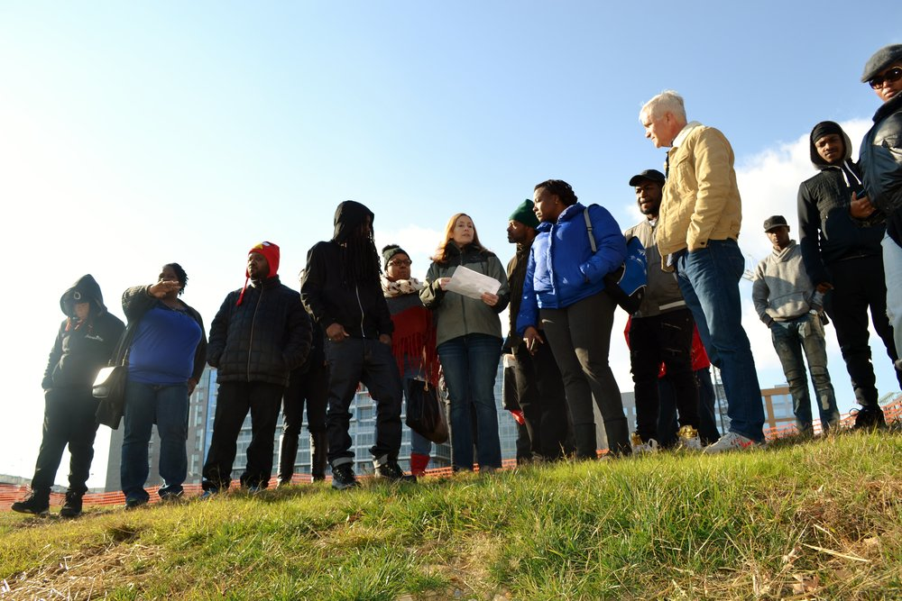 DC residents receive training to become eligible for green jobs with DC Water. Credit: DC Water