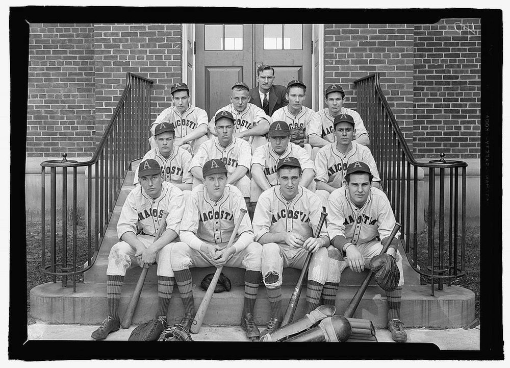 Anacostia High School baseball team, 1939