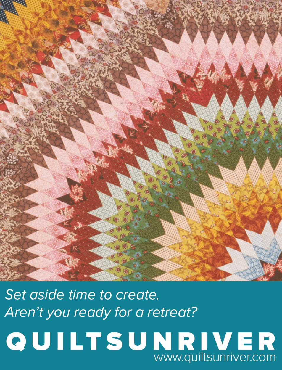 Set aside your time to create.